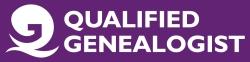 QG Register of Qualified Genealogists logo