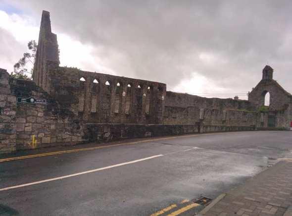 Nenagh Abbey on Abbey Street or sráid na mainistreach