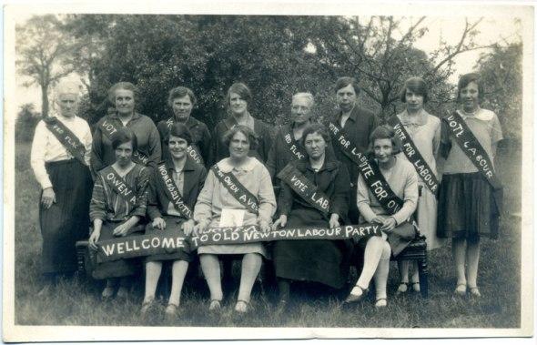 Old Newton Labour Party photograph